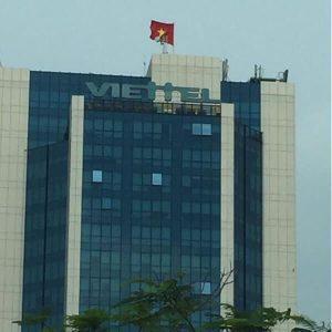 Cột cờ Trụ sở Tập Đoàn Viettel