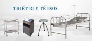 Một số thiết bị y tế inox được cung cấp bởi Inox Nam Việt