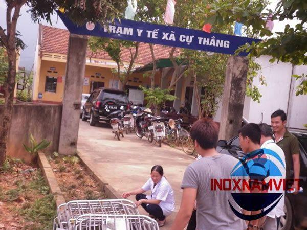 Giường bệnh nhân inox Phú Thọ