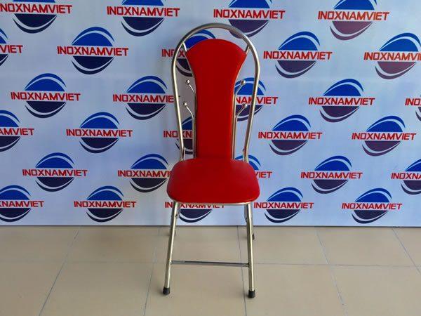 Đơn vị cung cấp ghế xếp inox có lưng tựa cao