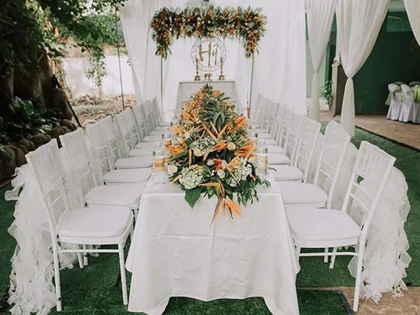 Inox Nam Việt cung cấp cho thị trường những sản phẩm bàn ghế đám cưới chất lượng