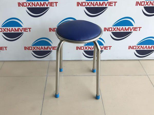 Kinh nghiệm lựa chọn sản phẩm ghế đẩu inox có nệm chất lượng