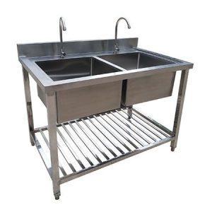 3 loại bồn rửa chén công nghiệp được ưa chuộng tại nhà hàng
